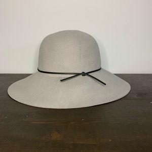 Talula Grey felt hat